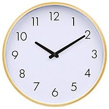 Silent Wall Clocks | amazon com hippih 12 silent wall clock wood non ticking digital
