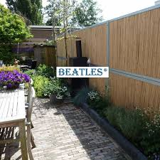 synthetic plastic bamboo wall covering for decor beatlespark