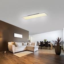 leuchten direkt led panel flat mit fernbedienung 4 größen