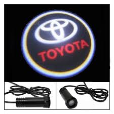 toyota car logo digitru car door shadow light logo for toyota etios led logo