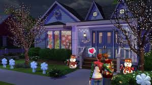 sims 3 holiday lights the sims 4 holiday celebration pack the sims wiki fandom