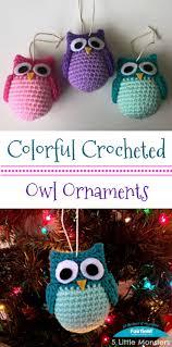 christmas white snow owls decorationswhite tree decorationsowl