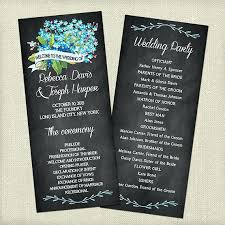 wedding program chalkboard beauty and the beast themed wedding invitations and catholic