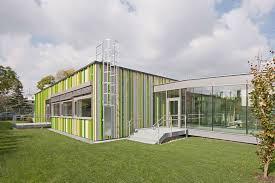 designboom green school kirsch zt renovates annex building of open air school in vienna