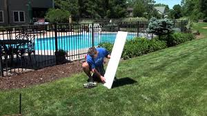 how to check your slope for a backyard ice rink nicerink youtube