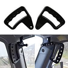 jeep wrangler sport accessories amazon com aluminum grab handles grabars for jeep wrangler jk