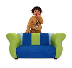 Personalized Kids Sofa Amazon Com Keet Fancy Kid U0027s Sofa Blue Green Baby