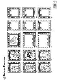 free printable postman pat stamps office preschool