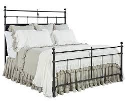 Steel King Bed Frame by Magnolia Home By Joanna Gaines Traditional Trellis Metal King Bed