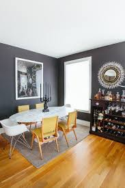 Yellow Room Trendy Color Duo 20 Dining Rooms That Serve Up Gray And Yellow