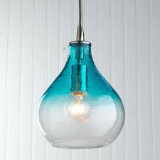 turquoise blue glass pendant lights awesome turquoise pendant light fragile white blue glass lights