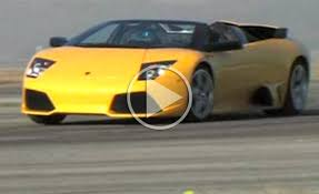 Lamborghini Murcielago Lp640 - exclusive video lamborghini murcielago lp640