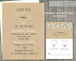 wedding reception invitation wording after ceremony wedding reception invitation wording after ceremony and
