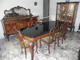 sedie chippendale stile chippendale anni 40 sala da pranzo stile barocco veneziano