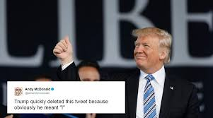 Tweet Meme - donald trump accidentally tweets we twitterati complete the