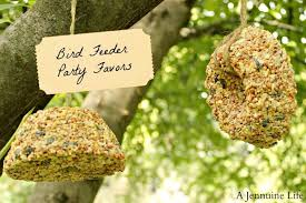 bird seed favors party prep bird feed party favors a jennuine