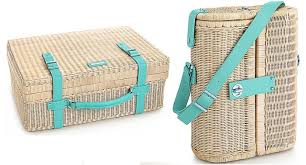 wine picnic baskets central park picnic basket and wine carrier for summer