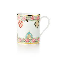 garland mug in bone china tiffany u0026 co
