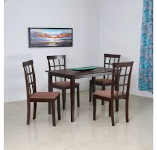 Glass Top Dining Table Online India Dining Sets Buy Dining Room Sets At Home At Home