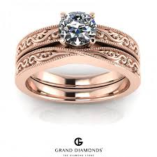 wedding rings cape town 0 40cts gold filigree diamond rings grand diamonds cape town
