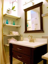 Ideas For Small Bathroom Storage by 10 Smart Design Ideas For Small Spaces Hgtv