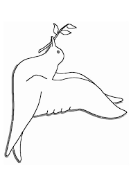 Coloriage colombe de la paix  img 19403