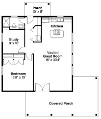 1 bedroom house plans coastal log cabin home with 1 bedrm 960 sq ft plan 108 1592