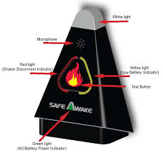 Green Light On Smoke Detector Safeawake Smoke Alarm Aid