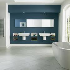 Bathroom With Black Walls Navy And White Bathroom Decor Dark Wall Tile Wall Mount Shower