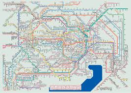 Nyc Metro Map Pdf by Tokyo Subway Map For Download Metro In Tokyo Highresolution Tokyo