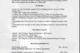 Welder Sample Resume by Welding Resume Objective Reentrycorps