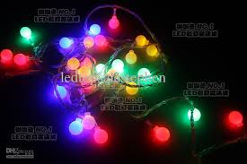 8 function multi color led christmas lights 220v 10m round led holiday christmas lights bulbs multi color cherry