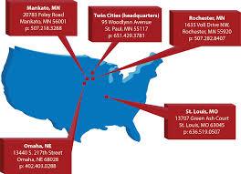 Rochester Mn Map St Paul Rochester Mn Mankato Omaha St Louis