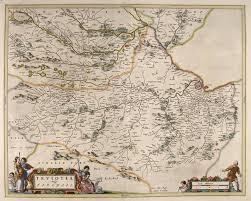 World Maps For Sale by File Blaeu Atlas Of Scotland 1654 Teviotia Teviotdale Jpg