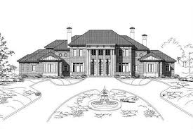 colonial luxury house plans colonial home plan 5 bedrms 6 5 baths 8273 sq ft 156 1711