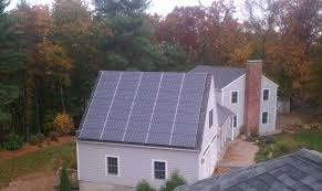 house with solar whole house solar generator study energysage