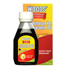 Obat Woods kalbe obat batuk woods peppermint antitussive 100 ml apotek