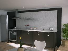 Splashback Ideas For Kitchens Black Kitchen Marble Splash Back Interior Design Ideas