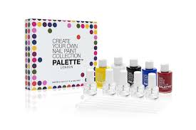5pc create your own nail paint collection palette london