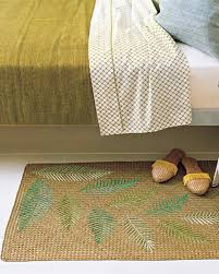 raffia throw rug martha stewart