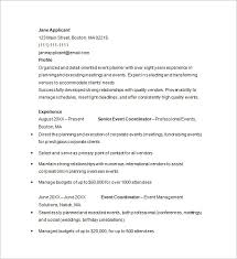 event planner resume a guideline to design a professional event planner cover letter