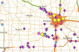 Mn Dot Traffic Map Highway Closures To Stay In Place Overnight As Snow Continues To
