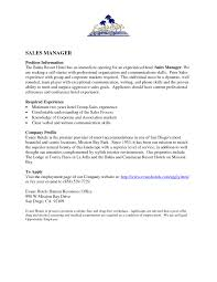 Cover Letter Template Sales Sample Sales Manager Cover Letter Images Cover Letter Ideas