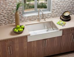 Stainless Steel Sink With Bronze Faucet Interior The Wonderful Kitchen Sink Application For Your House