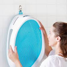 siege bébé bain transat de bain angelcare bleu baignoire et transat de bain
