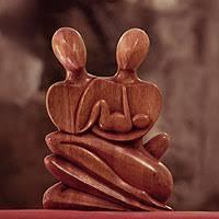 unicef market wood balinese home sculpture