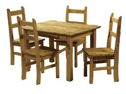 kitchen dining furniture mexican pine dining table and 4 chairs corona budget dining set