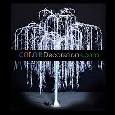 wholesale cd tl107 led willow trees lighting decorations for