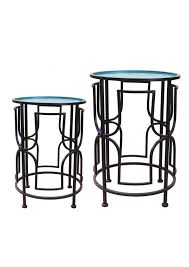 side table set of 2 coffee side tables