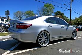 lexus ls custom lexus ls460 with 24in vellano vti wheels exclusively from butler